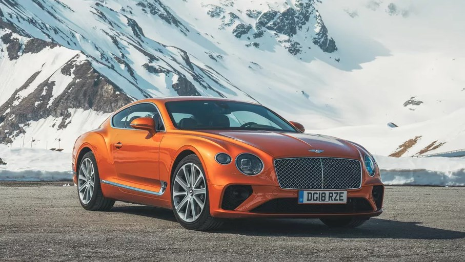 Bentley Continental 2019 marcas de coches europeos