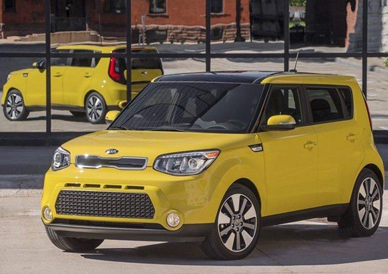 Top 10 marcas de coches más baratas del mercado 2016 Kia Soul - MSRP $15.800