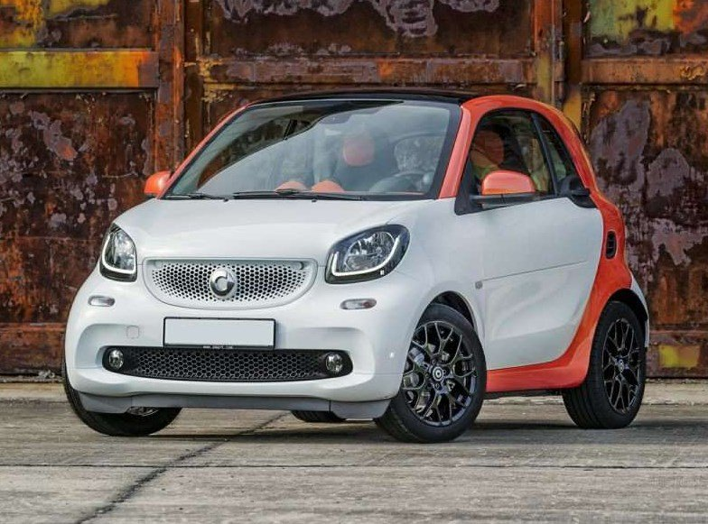 Top 10 marcas de coches más baratas del mercado 2016 smart fortwo - MSRP $14.650