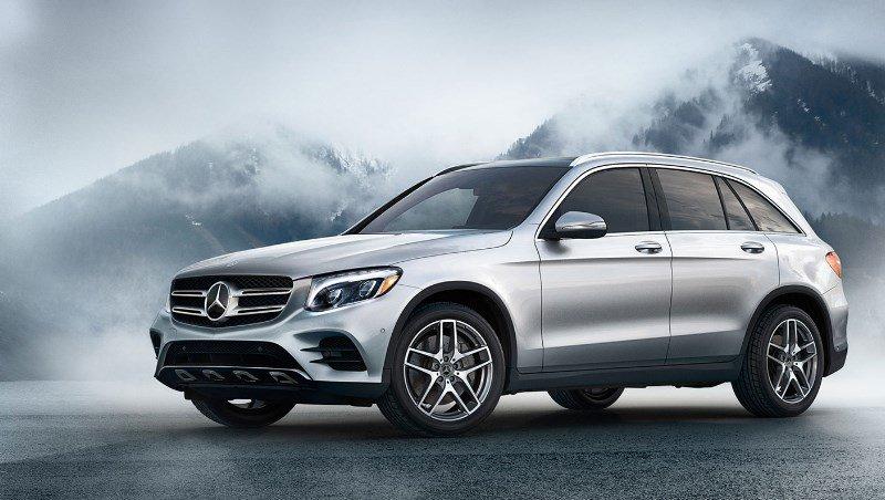 Top 10 mejores marcas de coches SUV familiares 2019 Mercedes-Benz GLC