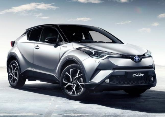 As es el interior del Toyota C-HR