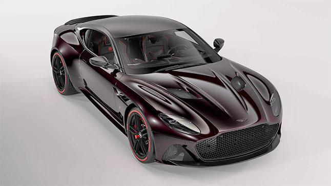 Aston Martin DBS Superleggera Tag Heuer Edition, con reloj incluido