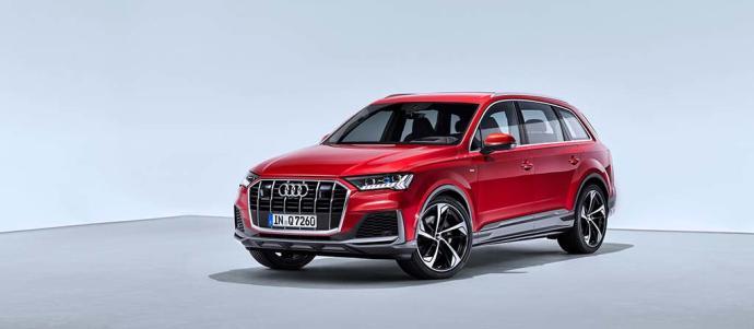 El Audi Q7 recibe un nuevo diseo, ms tecnologa y la etiqueta ECO