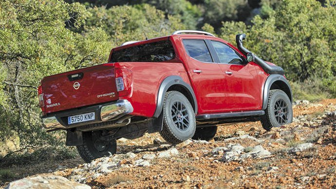 Nissan Navara Off Roader AT 32: sus recursos 4x4