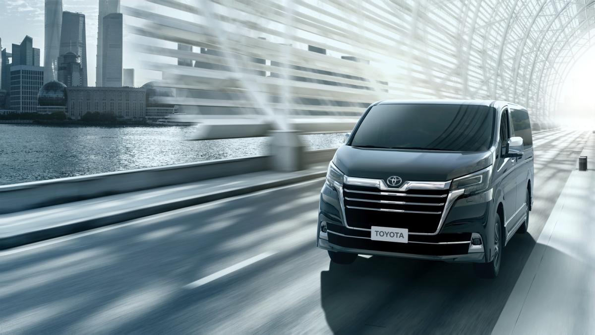 Toyota Granvia: as es el nuevo monovolumen de lujo de la marca japonesa