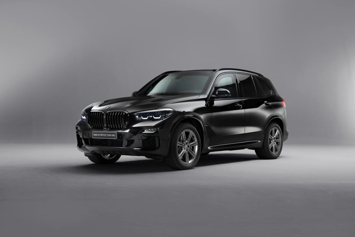 BMW X5 Protection VR6: seguridad ante todo