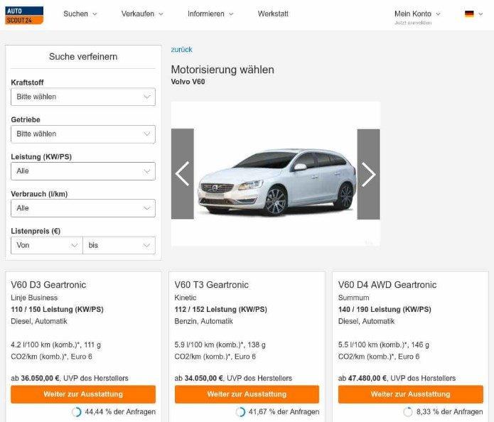 AutoScout24 - Busque autos motocicletas y camiones nuevos, usados en Europa