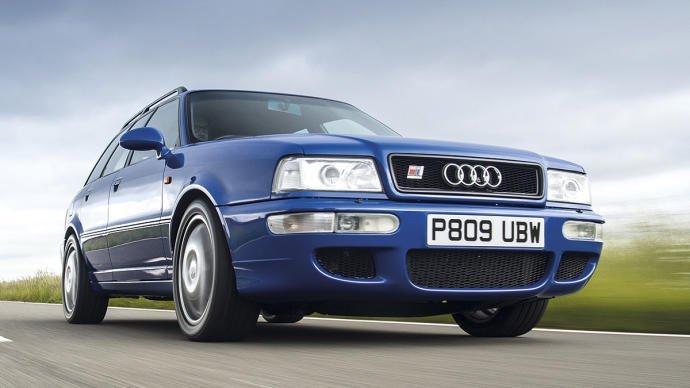 Prueba Audi RS2: el coche familiar 'padre'