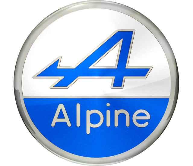 Alpine Logo (azul)