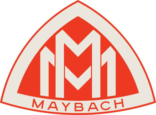 Maybach Logo (Rojo)