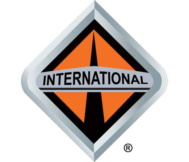 International Logo Trucks 3D