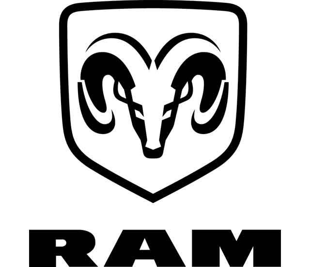 Ram Logo Símbolo de carnero (antiguo)
