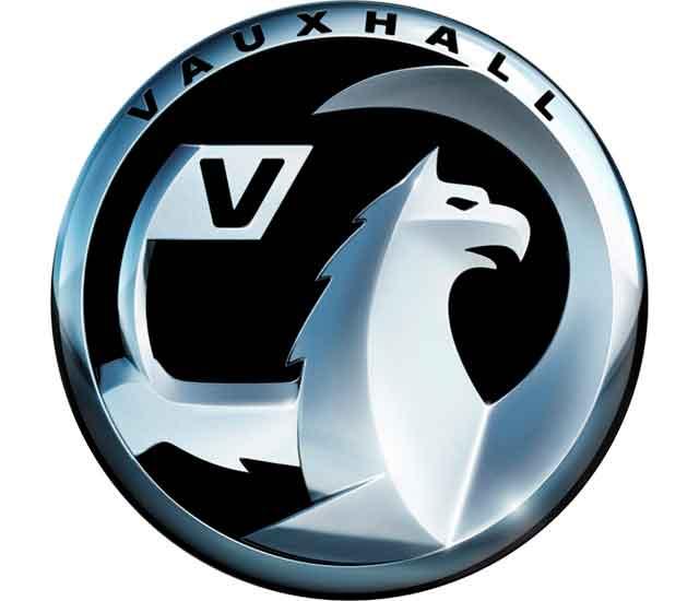 Vauxhall Logo (negro)