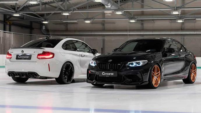 BMW M2 CS de G-Power: ms potente que un Porsche 911 Turbo S